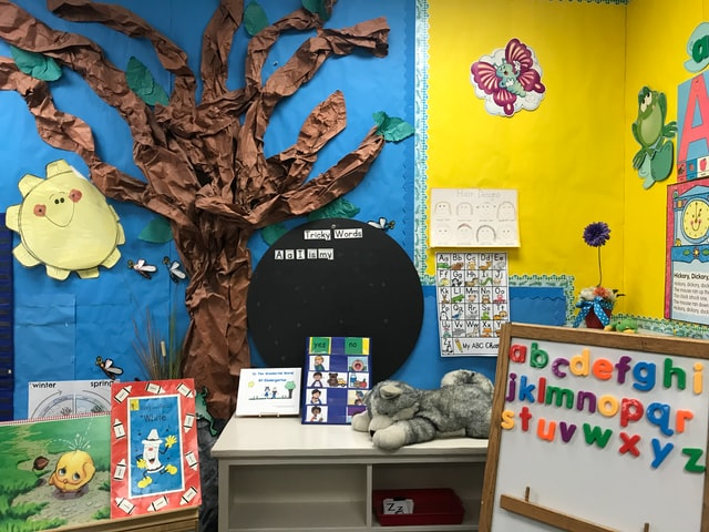 This layout for a lower elementary school classroom is ideal.